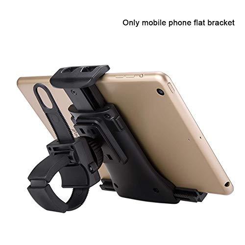 SUNERLORY Tragbarer Handyhalter, Universeller Verstellbarer Laufband-Übungs-Tablet-Ständer, Flexible 360-Grad-Drehung, Smartphone-Halterung für Fahrrad, Fitnessstudio -