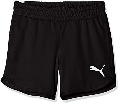 PUMA Mädchen Active Shorts, Black, 164