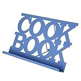 Premier Housewares–Atril para libro de cocina esmaltado, Black _ Parent, metal, azul, 18 x 30...