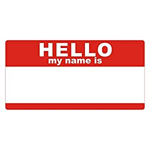 My Name Is Stickers