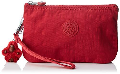 Kipling Zubehör (Kipling Damen CREATIVITY XL Münzbörse, Rot (Radiant Red C), 21.5x13.5x4 cm)