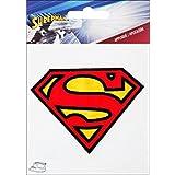 Simplicity pequeño Superman Logo hierro en Applique, poliéster, multicolor, 9,75x 0,2x 13,97cm