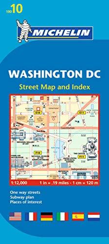 Michelin Washington DC Map 10 (Planos Michelin) (Washington Dc Street Map)