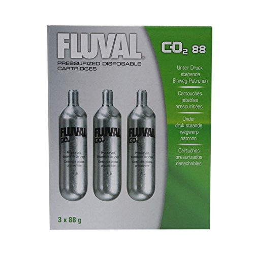 fluval co2 kit Fluval Notebook-System druckfest von CO288–3Stück x 80gr–insgesamt: 240g
