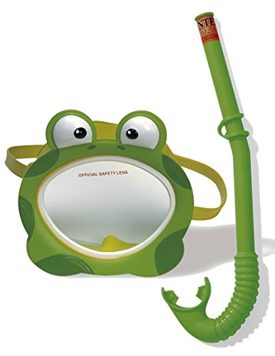 Intex Kinder Taucherset Bestehnd Schnorchel Froggy Fun Phthalates Free, 55940
