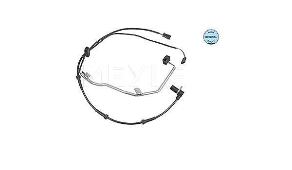 Raddrehzahl MEYLE-ORIGINAL Quality 2-polig Hinten Links oder MeyleSensor