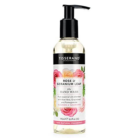 Tisserand 195 ml Rose and Geranium The Hand Wash