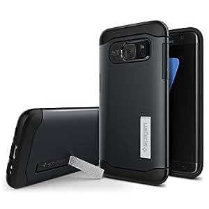 Spigen Coque iPhone 6 Plus / 6S Plus, [Slim Armor] Double Protection [Rose] Kickstand