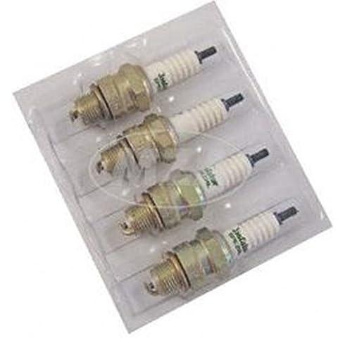 Set Bougie BERU–isolateur Pm14-brg–145(Lot de 4)–SL1+ spécial tondeuse à gazon