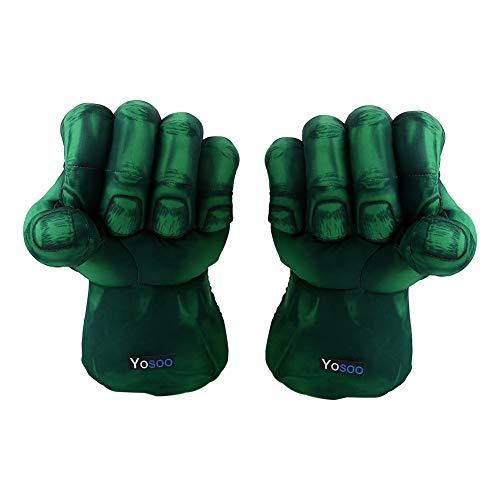 Zerone Boxhandschuhe, 1 Paar Hulk Handschuhe Baumwolle Hulk -