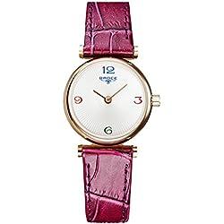 Ladies leather strap watch/ fashion diamond Women Watch/Waterproof quartz watches-B