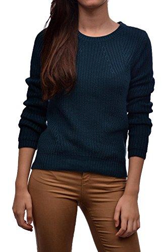 Vero Moda Damen Pullover VMLEX LS BLOUSE, Größe:L;Farbe:Reflecting Pond (10161267)
