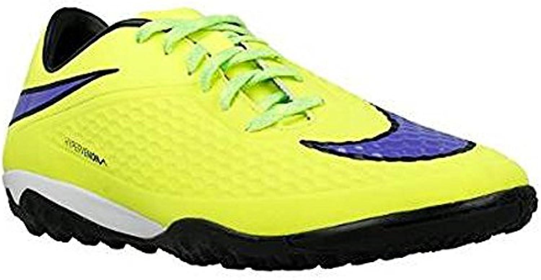 Nike Hypervenom Phelon TF Fussballschuhe volt-persian violet-hot lava-black- 46