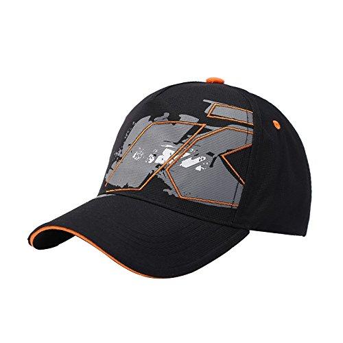 YONGYAO Racing Cap Motorrad Moto Gp Sport Baseball Hat Snapback Verstellbar (Baseball-handgelenk-protektor)