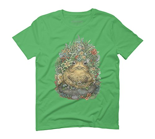 Her Majesty Toad Men's Graphic T-Shirt - Design By Humans Green