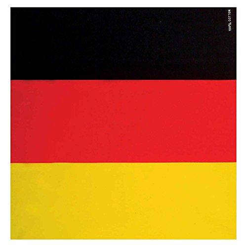 a Kopftuch Deutschland, Mehrfarbig, Einheitsgröße (Land Motto Party Kostüm Ideen)
