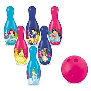 Disney- Juego de Bolos de Princesas, (Mondo Toys 28412)
