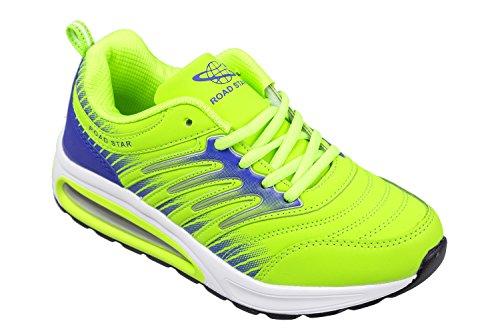 gibra , Chaussures de course pour homme neongrün/blau