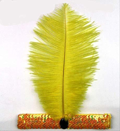 Cintas pelo Feather Flapper Lentejuelas Vestido Charleston