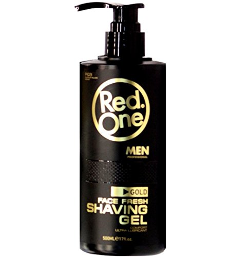 Red One Aftershave Cream Cologne Gold