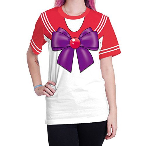 Camiseta holgada Sailor Moon - Sailor mars