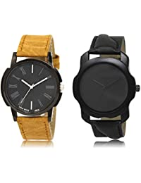 The Shopoholic Black Combo Best Combo Pack Black Dial Analog Watch For Boys Watch Boy