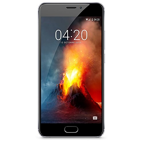 Meizu M5 Note Smartphone, 5.5 pollici Full HD, Helio P10 Octa-Core,  3 GB RAM, Memoria 16 GB, 13 MP PDAF Camera, 4G LTE, Grigio