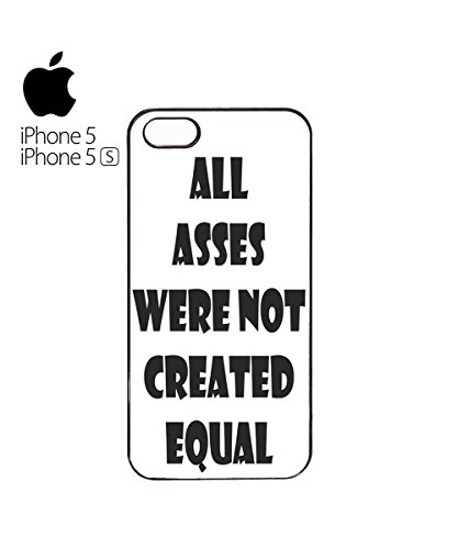All Asses Were Not Created Equal Nice Big Jeans Pants Mobile Phone Case Cover iPhone 6 Plus + White Blanc