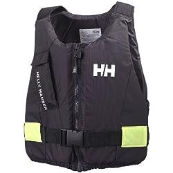 Helly Hansen Unisex Rettungsweste Rider, Ebony, 40/50, 33820_980