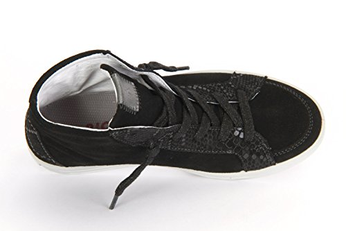Ricosta Livia, Baskets Basses Fille Noir