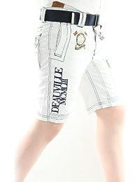 Solamode - Muchacho corto con blanco correa - geográfica Noruega - Board Boy - moda-