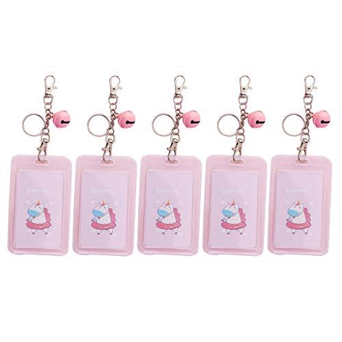 5 × Studentenausweis Kreditkartenschutz Für Studenten Jugendliche Jungen Mädchen Frauen - Schwimmring Einhorn