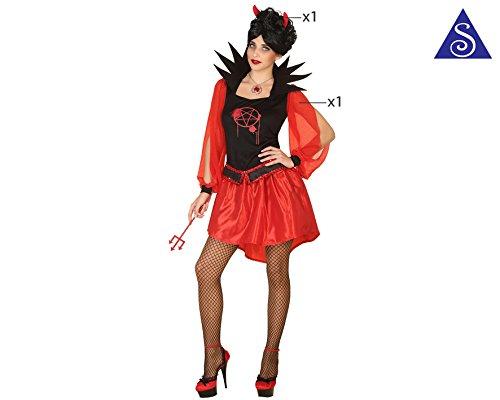 ATOSA 34811 - Teufelin, Kostüm
