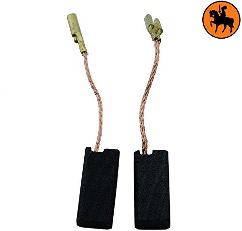 Escobillas de Carbón para BOSCH PWS 7-115 E amoladora -- 5x8x18mm -- 2.0x3.1x7.1'' -- Con dispositivo de desconexión