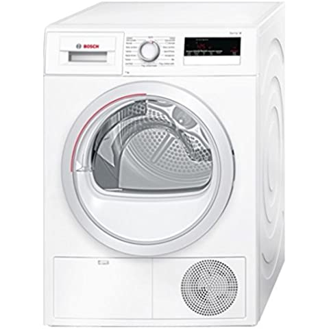 Bosch Serie 4 WTH85207IT Independiente Carga frontal 7kg A++ Color blanco - Secadora (Independiente, Carga frontal, Bomba de calor, A++, Color blanco, Derecho)