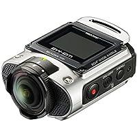Ricoh WG-M2 kompakte und leichte Actioncam (4K-Video, 204 Grad Ultraweitwinkel-Objektiv) silber