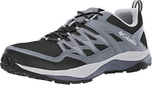 Columbia WAYFINDER, Zapatos Multideporte para Hombre, Negro Black, White 010, 44 EU