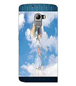 PrintDhaba Lovely Girl D-2493 Back Case Cover for LENOVO K4 NOTE A7010 (Multi-Coloured)