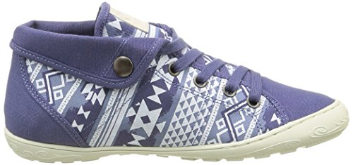 Palladium - Gaetane Print, Sneaker Donna Blu (Bleu (D65 Indigo/Aztec))