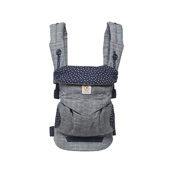 Ergobaby Babydraagzak 360 Sunrise Star Dust Ergobaby 4 Weight range: 12- 33 lbs. (from 7-12 lbs. with infant insert, sold separately) Ergonomic seat for baby, adjustable for forward-facing 2