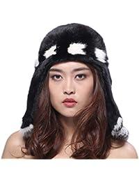 BeFur Cappello unisex paraorecchie di Stile musulmano con pelliccia di  visone morbido e delicato per inverno 28a7d5dbbfd9