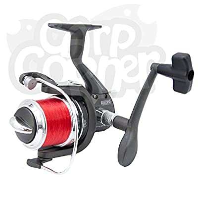 Sea Fishing Reel With Spare Spool Spinning Beachcaster Rock Pier NGT BM5000FD from Carp Corner