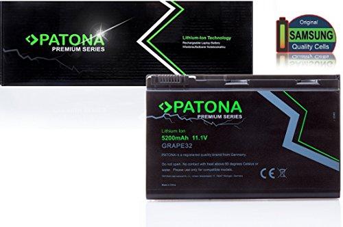 PATONA Premium Batteria per Laptop ACER Extensa 5210-300508 | 5220-051G08Mi | 5220-100508 | 5220-100508Mi | 5220-101G08Mi | 5220-1A1G12 | 5220-1A1G16 | 5220-200508 | 5220-201G08 | 5220-201G12Mi | 5620G | 5620Z-1A2G08Mi | 5620Z-1A2G12Mi | 5620Z-2A1G08Mi | 5620Z-2A1G16 | 5620Z-2A2G08Mi | 5620Z-3A1G16 | TravelMate 5310-400508Mi | 5320-051G16Mi | 5320-101G12Mi | 5320-101G16Mi | 5320-201G16Mi | 5320-202G16Mi | 5320-2518 | 5520-401G12 | 5520-401G12Mi | 5520-401G16 - [ Li-ion; 5200mAh; nero]