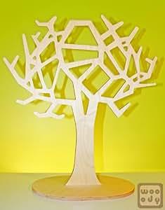Wooody arbre à bijoux xXL 60 cm (bijoux, porte bijoux colliers)