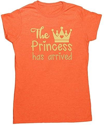 Costume Prince Childrens Fantaisie - HippoWarehouse - T-shirt - Femme - orange
