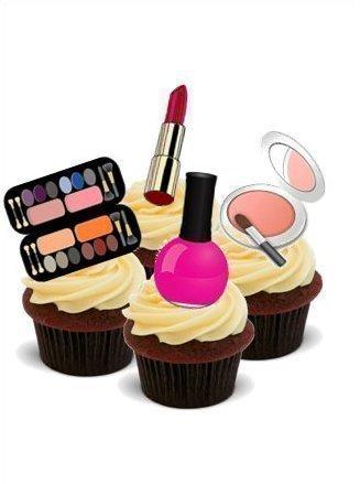 NOVELTY GLAMOUROUS MAKE UP MIX (Lipstick, Nail Varnish, Eye Shadow)