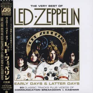 Early Days Amp Latter Days The Very Best Of Led Zeppelin
