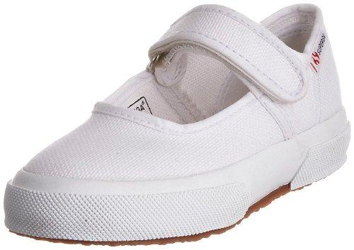 Superga Cotj, Unisex - Kinder Ballerinas White-901