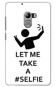 selfie Designer Printed Back Case Cover for Lenovo Vibe K4 Note