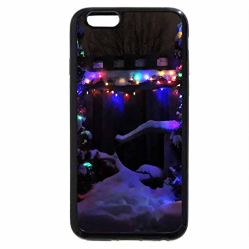 iPhone 6S / iPhone 6 Case (Black) Lights Of Christmas